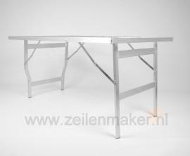Vlakke tafel Mini 80 x 120 x 80cm hoog  (M-80)
