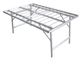 Flachen Tisch 80 cm hoch (B8080)