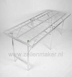 Koffertafel  80 x 200 x 80cm hoog (K-80)