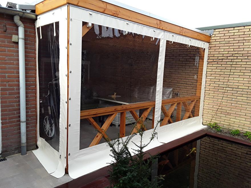 winter en waterdichte verandazeilen