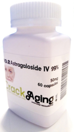 Astragaloside IV 99% 50mg per capsule