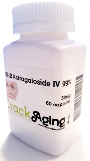 60 capsules Astragaloside IV 99% 50mg per capsule