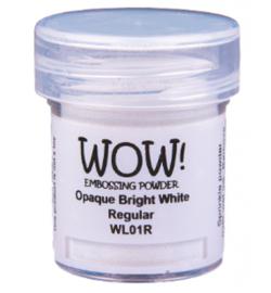Wow! Embossing Powder - Opague Bright White