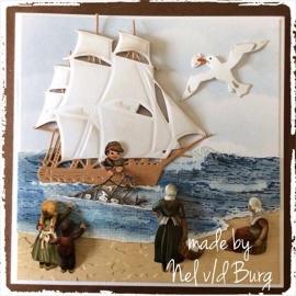 Goede vangst vandaag... Made by Nel v/d Burg