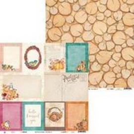 Scrap Paper The Four Seasons - Autumn 05