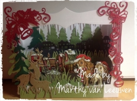 Marianne's box card.. Made by Marthy