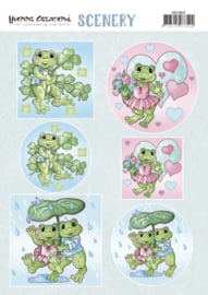 Scenery - Yvonne Creations - Happy Frogs