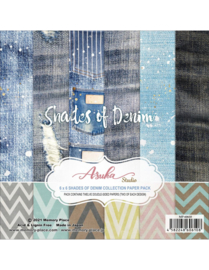 Paperpad Memory Place Shades of Denim 6x6