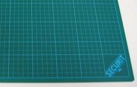 Snijmat groen 3-laags 30x45cm