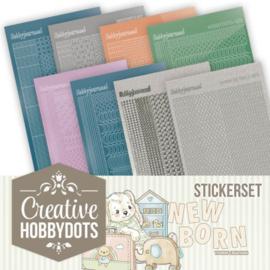 Creative Hobbydots Stickerset 11 - Yvonne Creations - Newborn