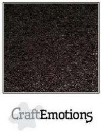Kraft karton zwart 10 vel A4 220GR - CraftEmotions