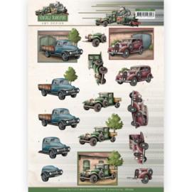 3D Cutting Sheet - Amy Design - Vintage Transport - Truck