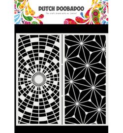 Mask Art Slimline Art - Dutch Doobadoo