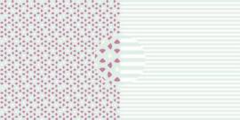 Scrappapier Watermeloen - strepen
