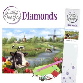 Dotty Designs Diamonds - Landscape