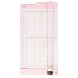 Papiersnijder met rilfunctie 15x30,5cm roze - Vaessen