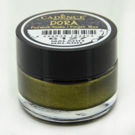 Dora wax - Malachiet groen