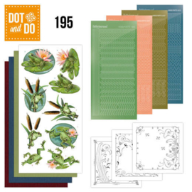 Dot and Do 195 - Amy Design - Friendly Frogs