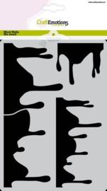 Mask stencil Summer Fun - druip A5 Carla Creaties