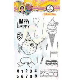 BM Clear Stamp Birthday Bash Marlene's World nr.67