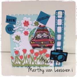 Vakantie.... Made by Marthy