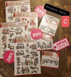 INPAKDEAL Pakket C: Nostalgic Christmas - Amy Design