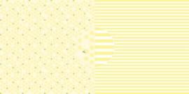 Scrappapier Citroenen - strepen