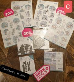 INPAKDEAL Pakket C: Wintertime - Yvonne Creations