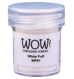 Wow! Embossing Powder - Puff White