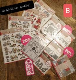 INPAKDEAL Pakket B: Nostalgic Christmas - Amy Design