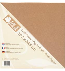 Kraft paper Atbelle , 300 grs Scrap (20 vel)