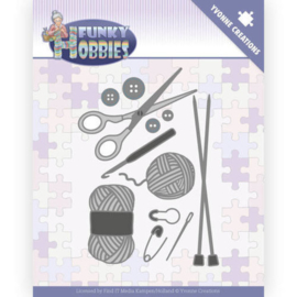 Snijmal -  Funky Hobbies - Knitting