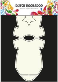 Card Art Stencil baby rompertje A4