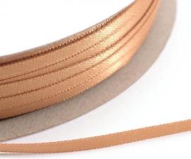 Goudkleurig satijnlint per meter 3mm breed