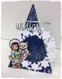 Kerst piramide.. Made by Handmade Hobby