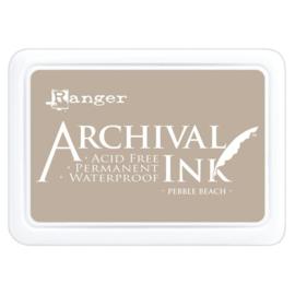 Archival ink pad - Pebble beach
