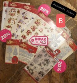 INPAKDEAL Pakket B: Touch of Christmas - Precious Marieke
