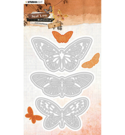 JL Cutting & Emb. Die Butterfly Collection nr.18