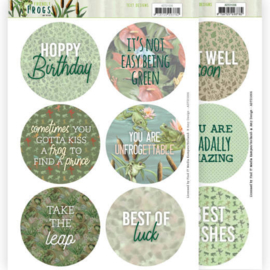 Text Designs - Amy Design - Friendly Frogs (EN)