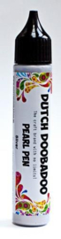 Dutch Doobadoo Pearl Pen zilver