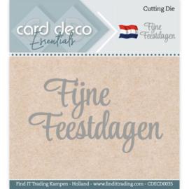 Card Deco Essentials - Cutting Dies - Fijne Feestdagen