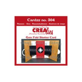 Cardzz gate fold shutter card