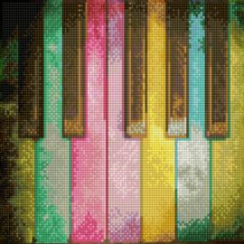 Diamond Dotz - Piano Rainbow