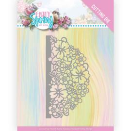 Snijmal - Amy Design - Enjoy Spring - Half Flower Circle
