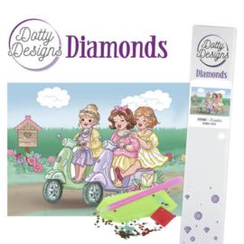 Dotty Designs Diamonds -Bubbly Girls -Scooter