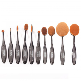 Blending brush maat 1-10 (10stuks)