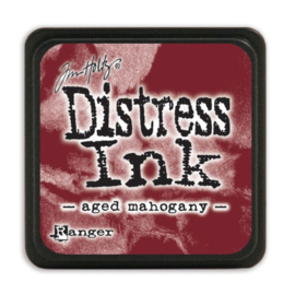 Distress Mini ink pad Aged Mahogany