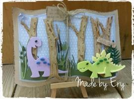 Dino's in het bos... door Ery