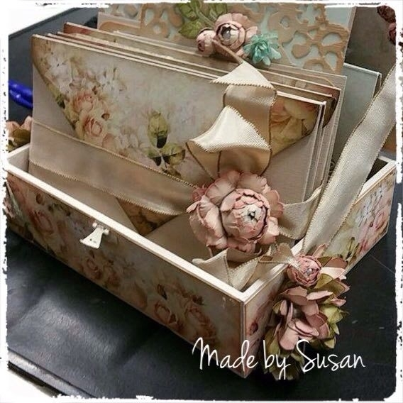 Flower box... Made  by Susan