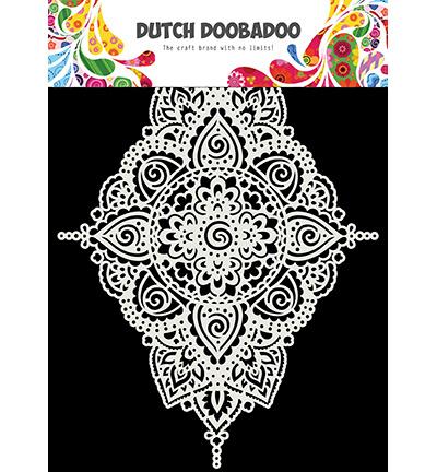 Dutch Mask Art Diamond-shaped